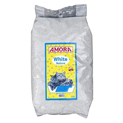 Amora Katzenstreu White Compact Nature | 15l