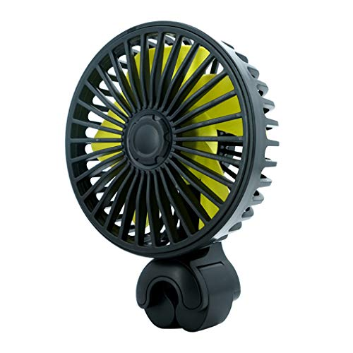 Auto-Rück Rear Seat Kopfstütze 3 Speed USB-Ventilator-Luft-Kühlventilator Für SUV LKW-Auto