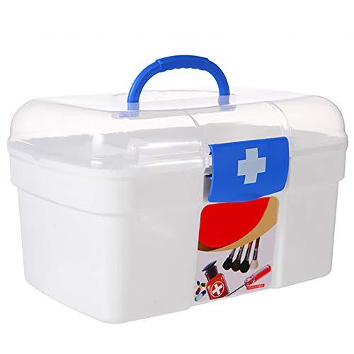 aoory Medizinkiste, Erste-Hilfe-Set, Medizin-Zubehör, Aufbewahrung