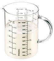 tescoma 630434 delicia brocca in vetro con scala graduata, 1.0 lt