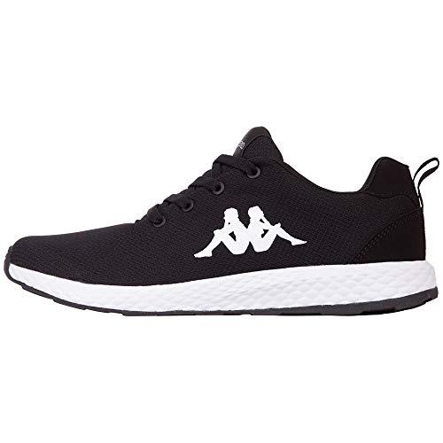 Kappa Banjo 1.2, Sneaker Unisex-Adulto, Schwarz (Black White 1110), 41 EU