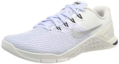 Nike WMNS Metcon 4 XD Metallic AV2252-400 Half Blue/Sail Women's Training Shoes (9.5 B US)