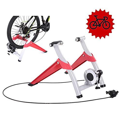 TANCEQI Rollentrainer van staal Cycletrainer, inklapbaar fiets hometrainer voor indoor fietstraining fietstrainer belastbaar