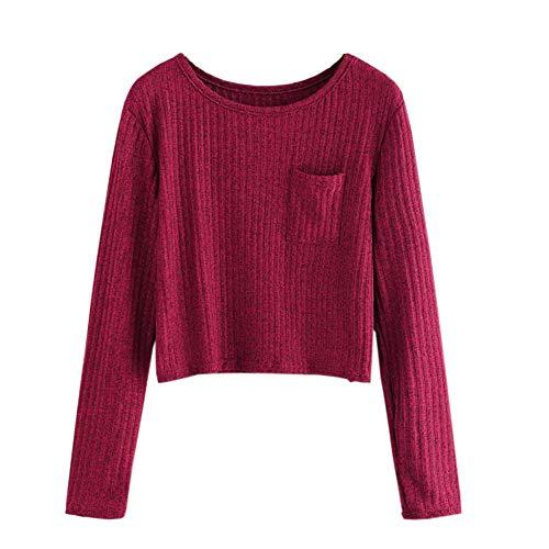 Fairy Costume Teenager Mädchen Damen Sport Langarm Stitching Langarmshirt Hoodie Sweatshirt Crop Streetwear Tops Oberteile mit Taschen
