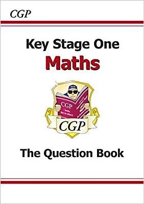 KS1 Maths Question Book (CGP KS1 Maths SATs) by Coordination Group Publications Ltd (CGP)