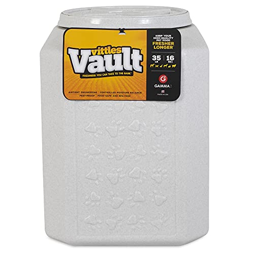 Gamma2 Vittles Vault Outback Airtight Pet Food Container, 35 Pounds