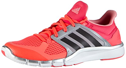 adidas Performance Damen Adipure 360.3 Hallenschuhe, Rot (Flash Red S15/Dgh Solid Grey/Silver Metalic), 38 EU