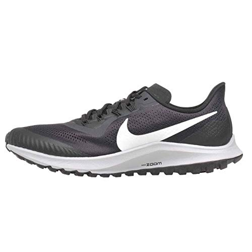 Nike Men's Air Zoom Pegasus 36 Trail Running Shoes, Multicolour (Oil Grey/Barely Grey-Black-Wolf Grey 002), 7 UK