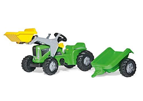 Rolly Toys Traktor rollyKiddy Futura (inkl. rollyKid Lader + Trailer, Heckkupplung, für Kinder von 2 ½ - 5 Jahren) 630035