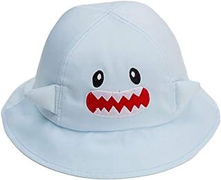 b7425de04605e LadyGG Chapeau Bébé Garcon Anti UV Chapeau Protection Soleil Bob en Coton Fille  Garçon Beret Bonnet