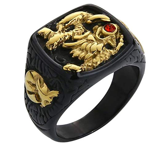 Haunted Ring Dragon Djinn Top Level Wish Granting Most Powerful Genie Sz 12