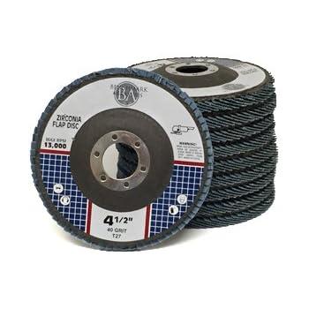 """Premium Zirconia Flap Disc 7/"""" x 7//8/"""" Arbor 60 Grit 8500 Rpm Max Qty-2"""