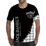 Photo de NOBRAND T-shirt à manches courtes pour homme avec impression numérique 3D -  - Large par