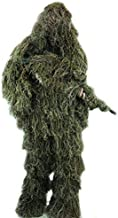 Arcturus Ghost Ghillie Suit: Woodland Camo | Double-Stitched Design with Adjustable Hood and Waist | Camo Hunting Clothes for Men, Military, Sniper, Airsoft, Paintball, and Hunting Ghillie Suit