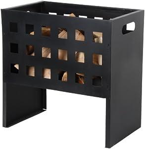 esschert Design ff8850x 50x 31cm Fire Panier Rectangle en Fonte–Noir