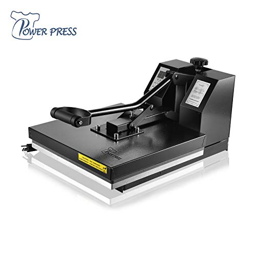 PowerPress Industrial-Quality Digital Sublimation Heat Press Machine for T Shirt