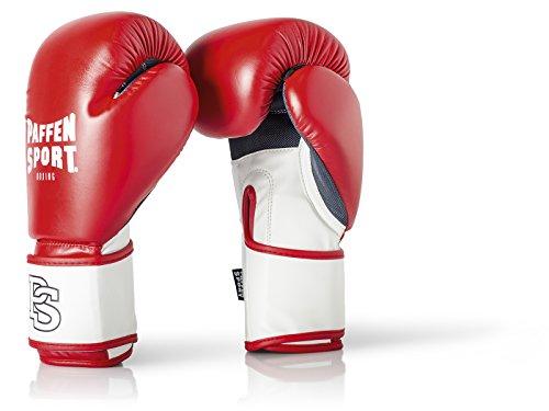 Paffen Sport FIT Boxhandschuhe für das Training; rot/weiß; 12UZ