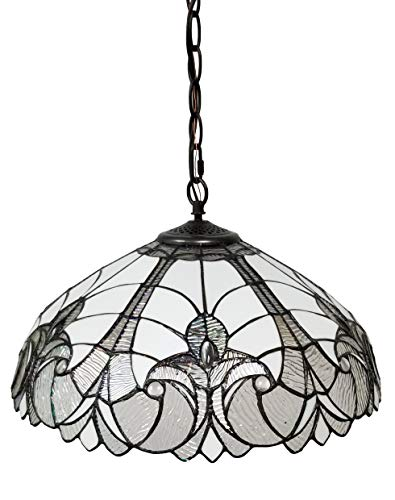 Amora Lighting Tiffany Style Hanging Pendant Lamp 18