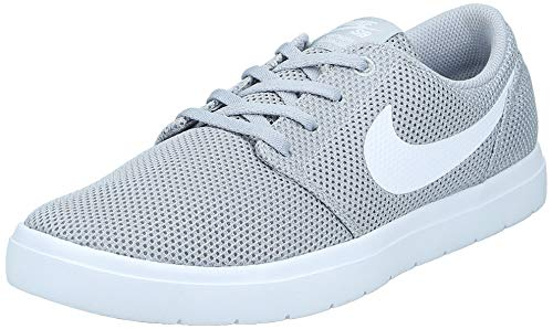 Nike Herren SB Portmore II Ultralight Skateboardschuhe, Grau (Wolf Grey/White 011), 40 EU
