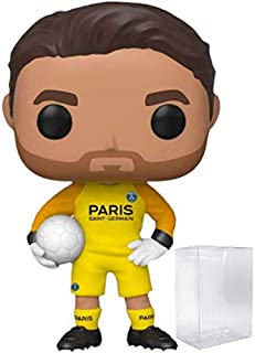 Funko Pop! Soccer: Paris Saint-Germain - Gianluigi Buffon Vinyl Figure (Includes Compatible Pop Box Protector Case)