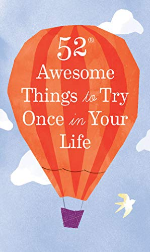 52 Awesome Things to Try Once in Your Life (English Edition)