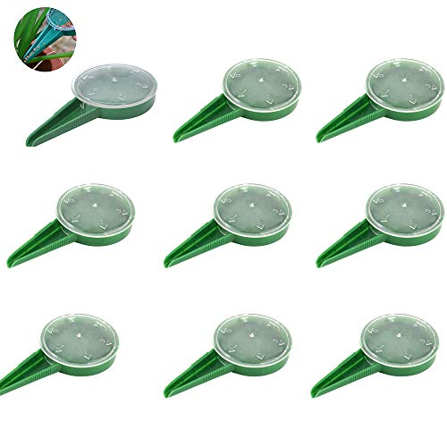 Lowest Price! HNBJJY 9PCS Portable Garden Plant Seed Dispenser Sower Planter Seed Dial Adjustable To...