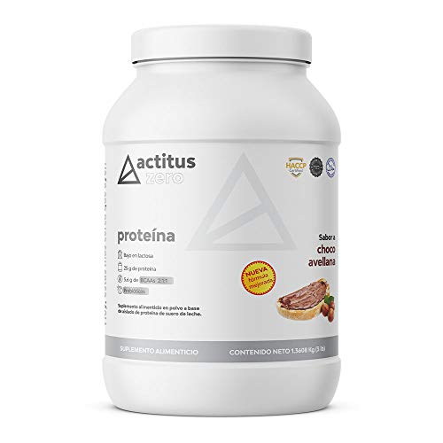 Actitus Zero | Proteína baja en carbohidratos | 25 g de proteína por porción...