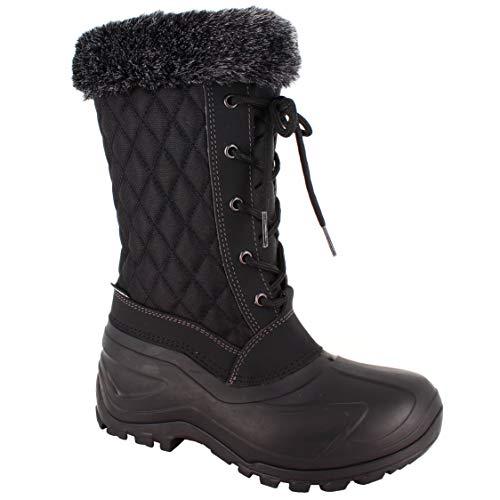 Spirale Damen Belle-ny Snow Boot, Schwarz, 39 EU