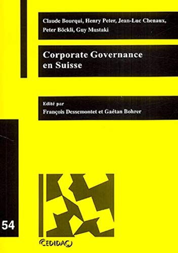 Corporate Governance en Suisse