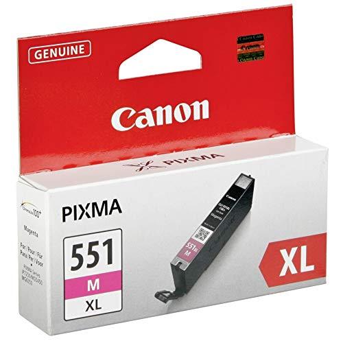 Canon Tintenpatrone CLI-551 XL M - magenta 11 ml für PIXMA Drucker ORIGINAL