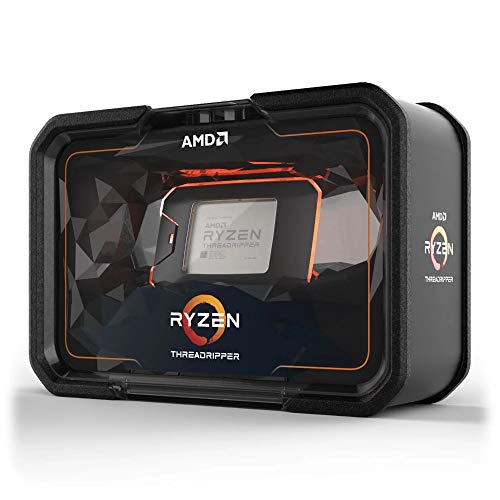 AMD Ryzen Threadripper 2920X Procesador, 12 cores/24 threads, 4.3 GHz Boost, 32 MB L3 cache, DDR4 2933 MHz, Color negro con naranja