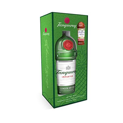 Tanqueray London Dry Gin, Probierset mit Tanqueray Flor de Sevilla Gin, Alkohol, Schnaps, Flasche, 47.3%, 700 + 50 ml, 758607