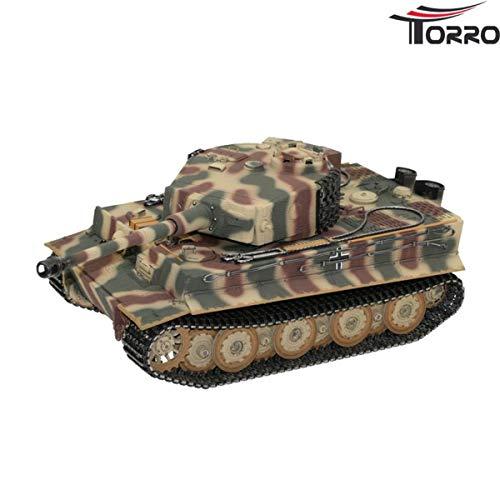 Tiger 1 Panzer mit Metallketten, Metallunterwanne Späte Version BB Sommertarn