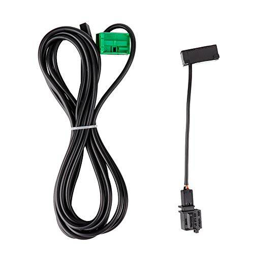 Wring Bluetooth, cable Bluetooth, arnés de micrófono Bluetooth, para reequipamiento Bluetooth Audi A4 A6 Q5 Q7 Compatible con dispositivo manos libres Rns315 Rns510 Mfd3