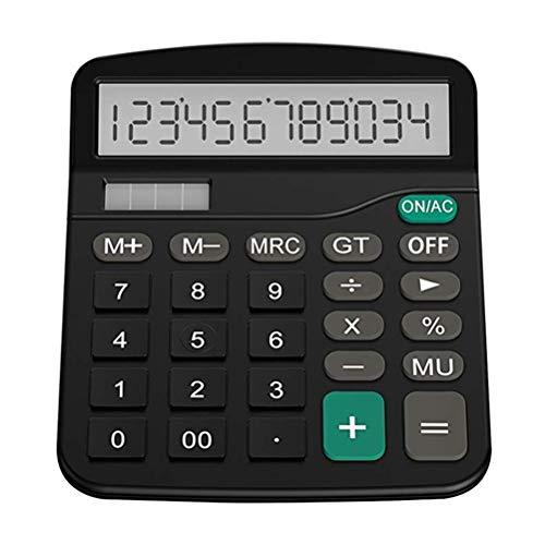 Release Lanzamiento Calculadora De Finanzas De Oficina Computadora Solar De Plástico Calculadora De Oficina De Finanzas Comerciales Calculadora De Escritorio De 12 bits Oficina