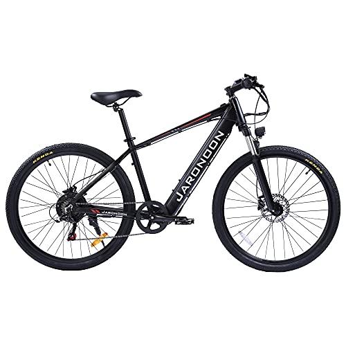 F1-New 27,5 Pulgadas Bicicleta eléctrica, Motor 500W, batería incorporada de Gran Capacidad...
