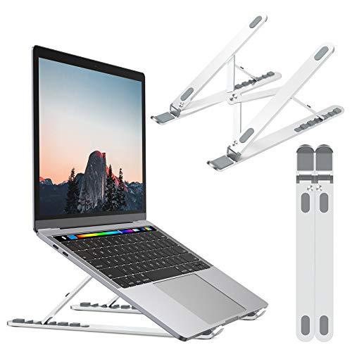 """NULAXY Laptop Ständer, Notebook ständer für Ipad und Dell, HP, Samsung, Lenovo alle 10\""""~15.6\"""" Notebooks - Silber"""