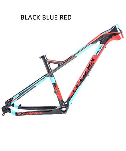 SJSF Y Cuadro De Carbono 27.5Er 15 17 Cuadro De Bicicleta De Carbono MTB 27.5 Er BSA BB92 Cuadro De Bicicleta De Bicicleta Carga Máxima 250 Kg,15 Inch