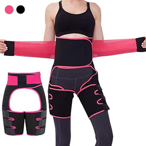 Pas wyszczuplający do treningu fitness, Neotrive odchudzania, pas do fitnessu, testerer tkanki tłuszczowej, dla mężczyzn i kobiet, pas fitness, pas biodrowy do odchudzania, spalania tłuszczu, pas do sauny