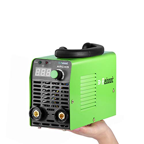 Stick Welder Machine IGBT Inverter Reboot ARC145 MMA Stick ARC Digital Welder 110/220V Machine High Frequency Duty Cycle 1/16~1/8