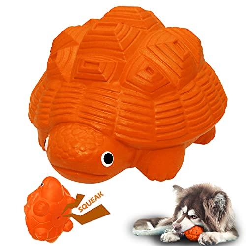 YILAKO Hundespielzeug Unzerstörbar, Quietschspielzeug für Hunde, für Große Mittlere Hunde Welpen, Naturkautschuk ungiftiger und sicher Zahnreinigung
