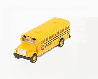 "School Bus, Yellow - Kinsmart 2523D - 2.5"" Diecast Model Toy Car"