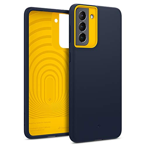 Caseology Nano Pop Compatible with Samsung Galaxy S21 Case 5G (2021) - Blueberry Navy