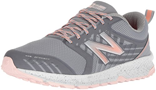 New Balance Women's FuelCore Nitrel V1 Trail Running Shoe, Grey, 9 B US