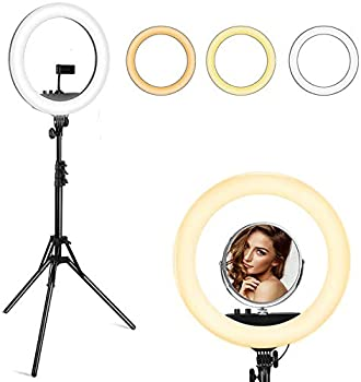 VicTsing 18 Inch Ring Light with Tripod Stand and Phone Holder