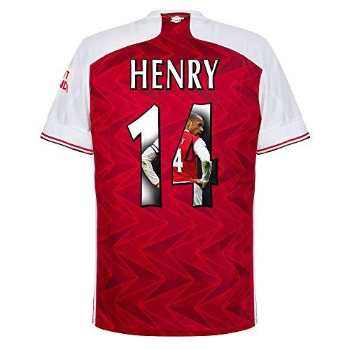 adidas Arsenal Henry 14 Home Trikot 2020-2021 (Gallery Beflockung) - M