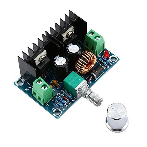 QiKun-Home DC-DC XH-M401 Buck Module XL4016E1 Regulador de Voltaje de CC de Alta Potencia de 200 W con regulador de Voltaje de Banda máximo de 8A Verde