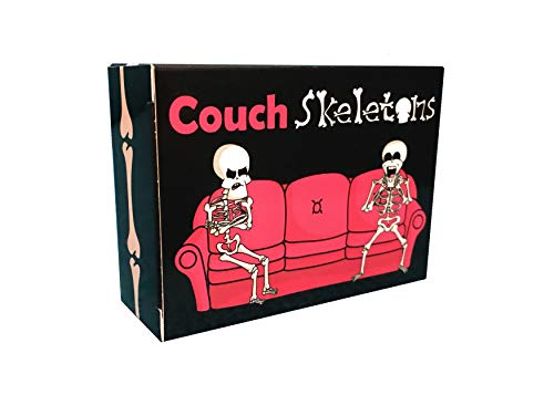 Couch Skeletons Card Game for Two Players