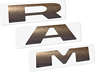 Reflective Concepts - RAM Grille Emblem Overlay Decal -Fits: 2019-2020 Ram 1500 - (Color: Granite Crystal Metallic)