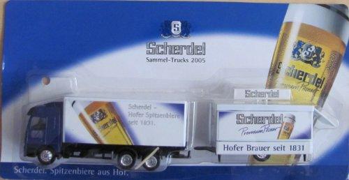 Scherdel Nr.28 - Hofer Spitzenbiere seit 1831 - MB Actros - Hängerzug mit Schankwagen